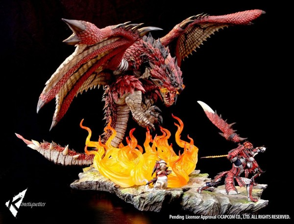 Monster Hunter - Rathalos The Fiery Bundle: Kinetiquettes