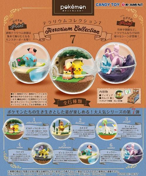 Pokemon - 1x Terrarium Figur / Blindbox - Collection Vol.7: Re-Ment