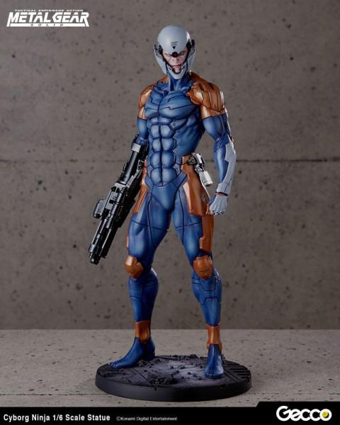 Metal Gear Solid - Cyborg Ninja Statue: Gecco