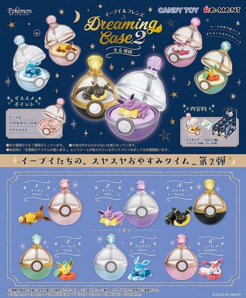 Pokemon - 1x Dreaming Case Figur / Blindbox - Collection Vol.2: Re-Ment