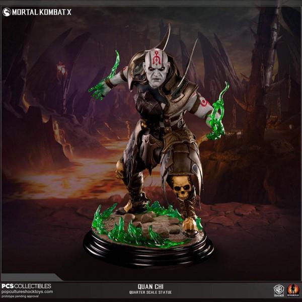 Mortal Kombat X - Quan Chi Statue: POP Culture Shock