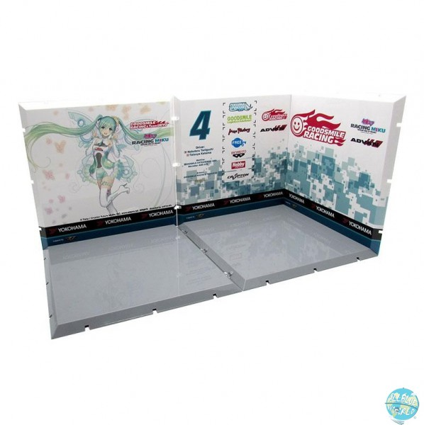Dioramansion 150 - Racing Miku 2017 Pit C / Zubehör-Set: PLM