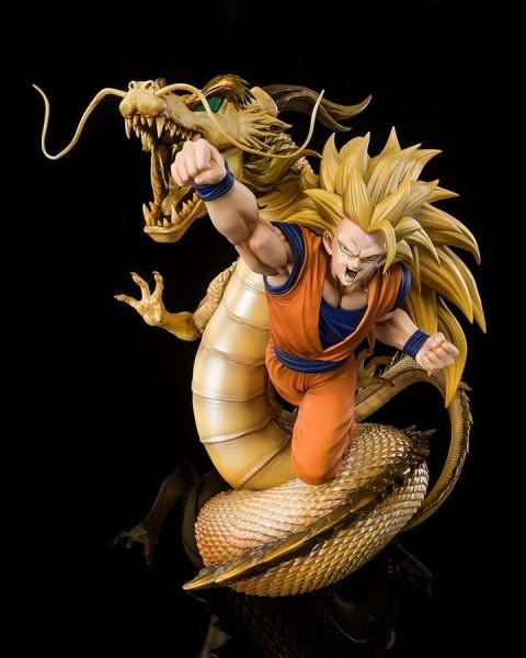 Dragon Ball Z - SSJ3 Son Goku Statue / FiguartsZERO - Extra Battle: Tamashii Nations