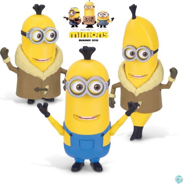 Minions - Arctic Kevin/Banana Actionfigur / Build A Minion: Thinkway Toys