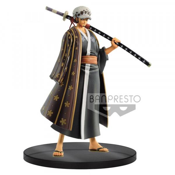 One Piece - Trafalgar Law Figur / DXF - Grandline Men - Wanokuni Vol. 3: Banpresto