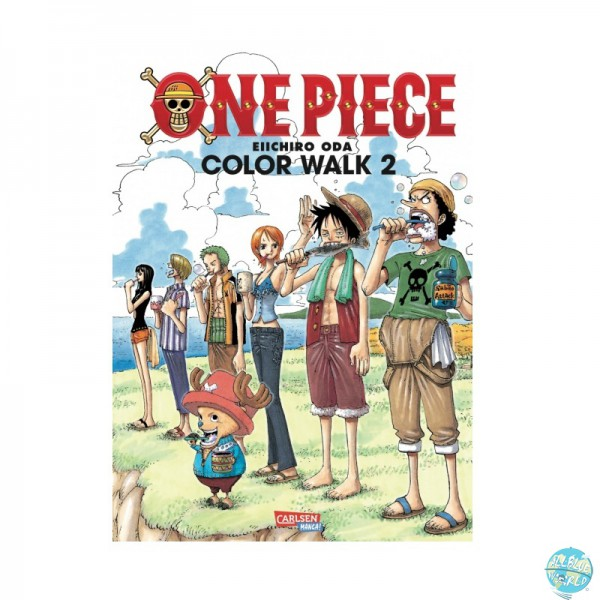 One Piece Color Walk 2 Artbook: Carlson Verlag