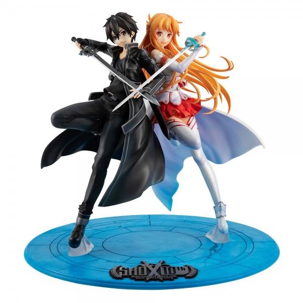 Sword Art Online - Kirito & Asuna Statue / LucrEA - 10th Anniversary: MegaHouse