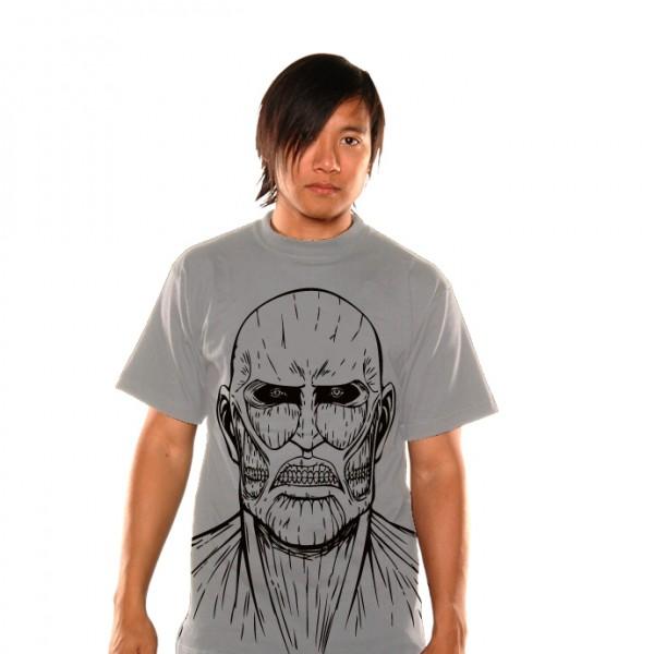 Attack on Titan - T-Shirt / Titan Sketch - Unisex M: Unekorn