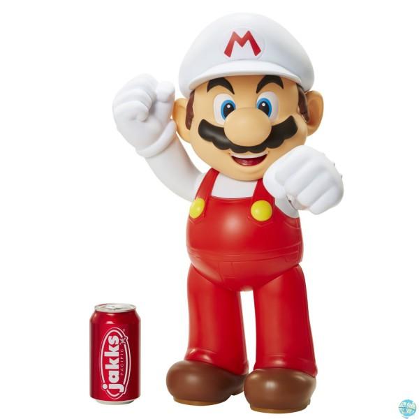 Nintendo Super Mario - Actionfigur Mario Fire 50cm