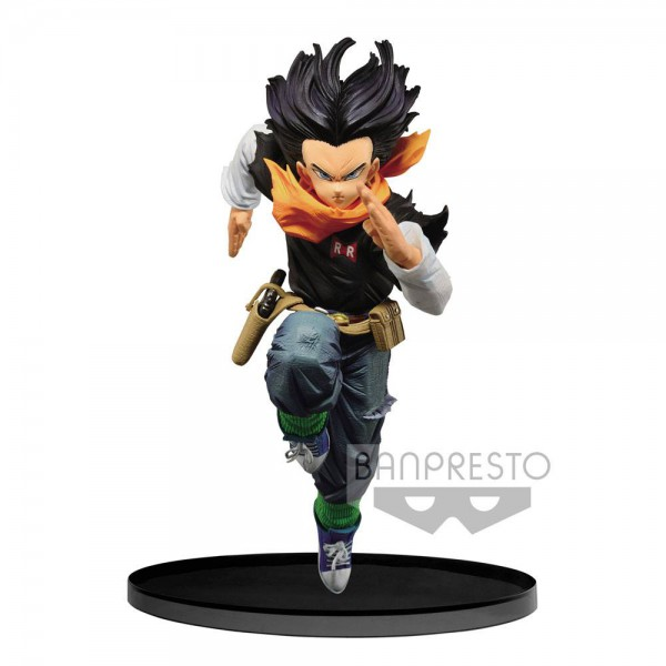 Dragon Ball - Andorid C17 Figur / BWFC - Normal Color: Banpresto