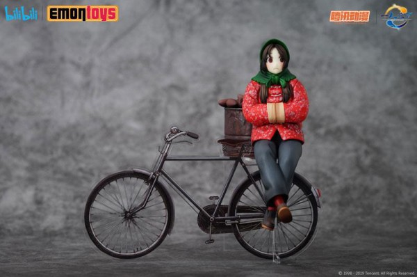 Under One Person - Feng Baobao Statue / Winter Version: Emon Toys