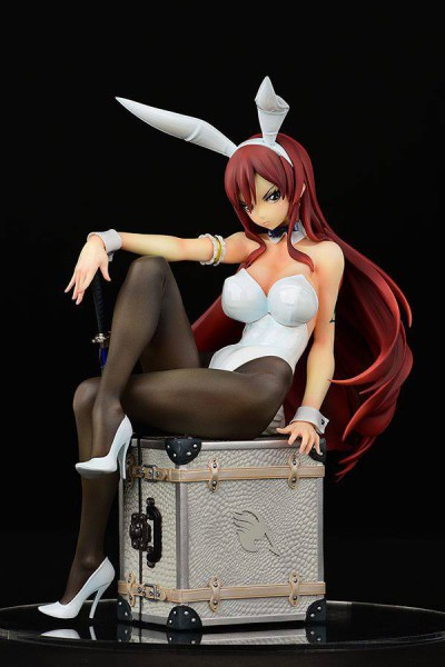 Fairy Tail - Erza Scarlet Statue / Bunny Girl Style White Version: Orca Toys