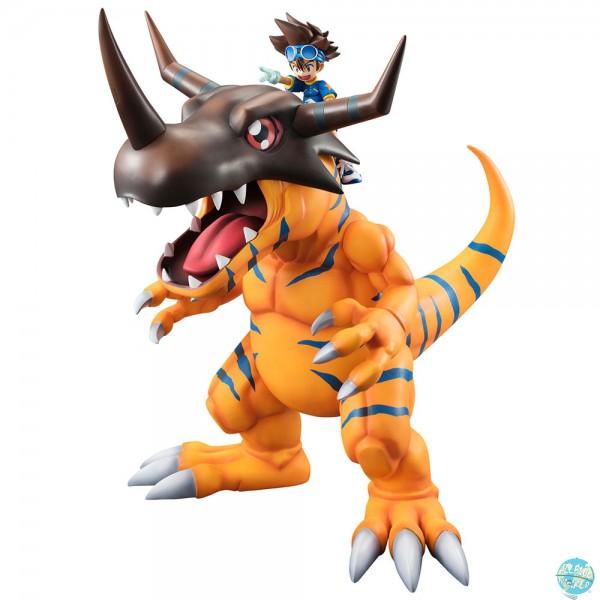 Digimon Adventure - Greymon & Tai Statue - G.E.M. Serie: MegaHouse