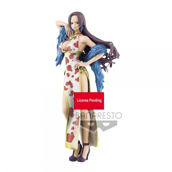 One Piece - Boa Hancock Figur / Sweet Style Pirates - Version A: Banpresto