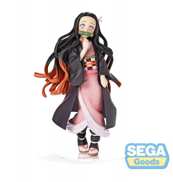 Demon Slayer Kimetsu no Yaiba - Nezuko Kamado Figur [NEUAUFLAGE]: Sega