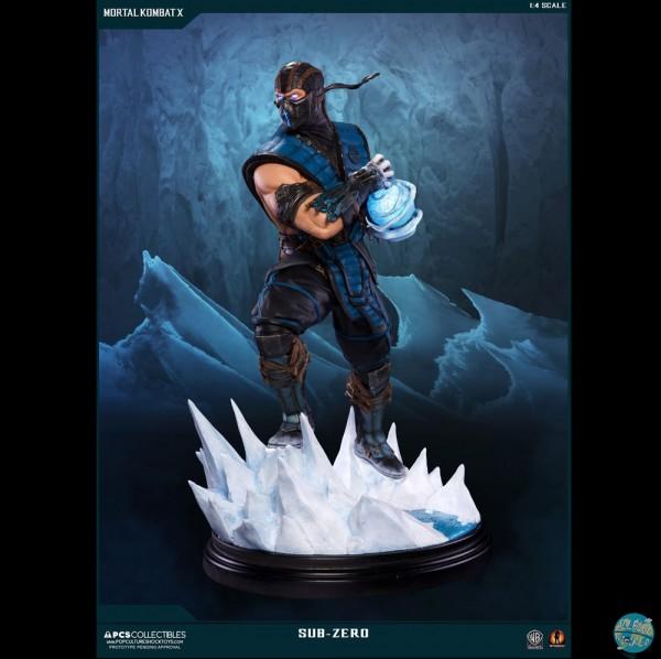 Mortal Kombat X - Sub-Zero Statue: Pop Culture Shock