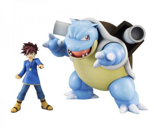 Pokemon - Gary Eich & Turtok Statue / G.E.M Series: MegaHouse