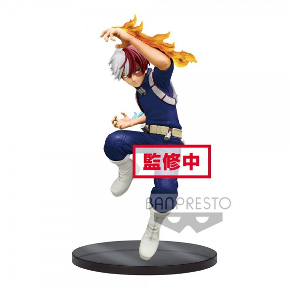 My Hero Academia - Shoto Todoroki Figur / The Amazing Heroes: Banpresto