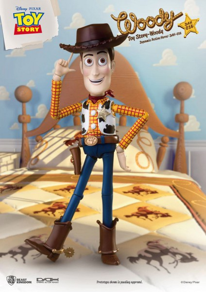 Toy Story - Woody Aktionfigur: Beast Kingdom Toys