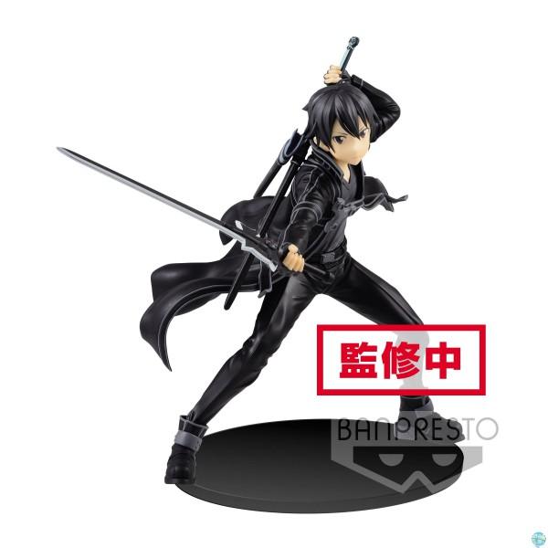 Sword Art Online - Kirito Figur - EXQ: Banpresto