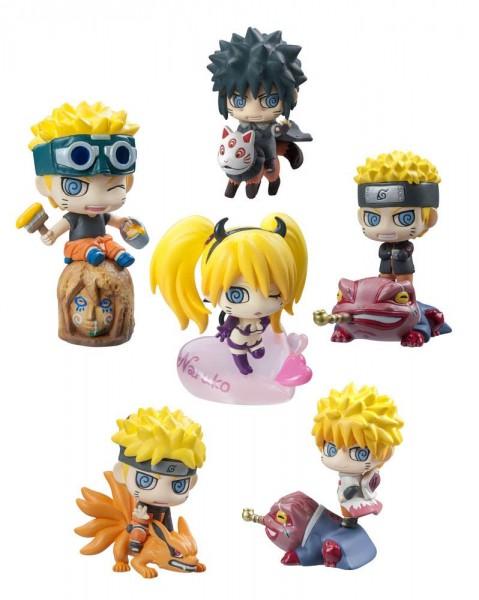 Naruto Shippuden - Sammelfigur - Petit Chara Land / Naruto Uzumaki Special: MegaHouse