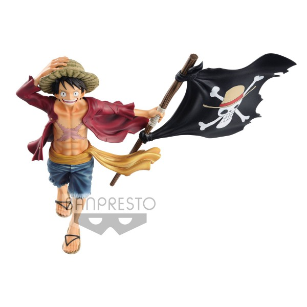 One Piece - Monkey D. Ruffy Figur / Magazine: Banpresto