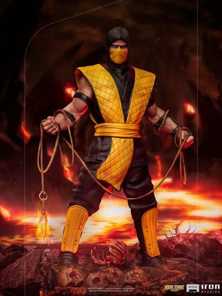 Mortal Kombat - Scorpion Statue / Art Scale: Iron Studios