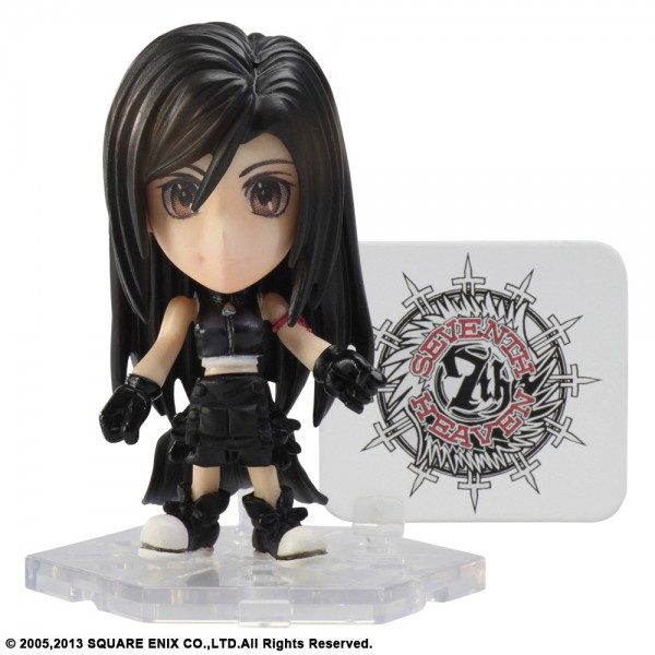 Final Fantasy - Tifa Lockhart Figur - Trading Arts Mini Kai / Vol. 4: Square Enix