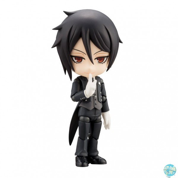 Black Butler Book of Atlantic - Sebastian Michaelis Actionfigur - Cu-Poche: Kotobukiya