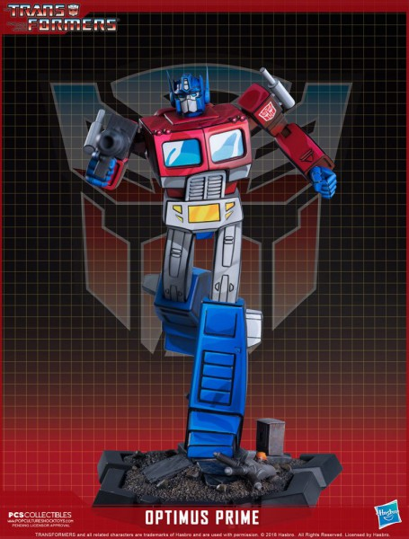 Transformers Classic - Optimus Prime Statue: Pop Culture Shock