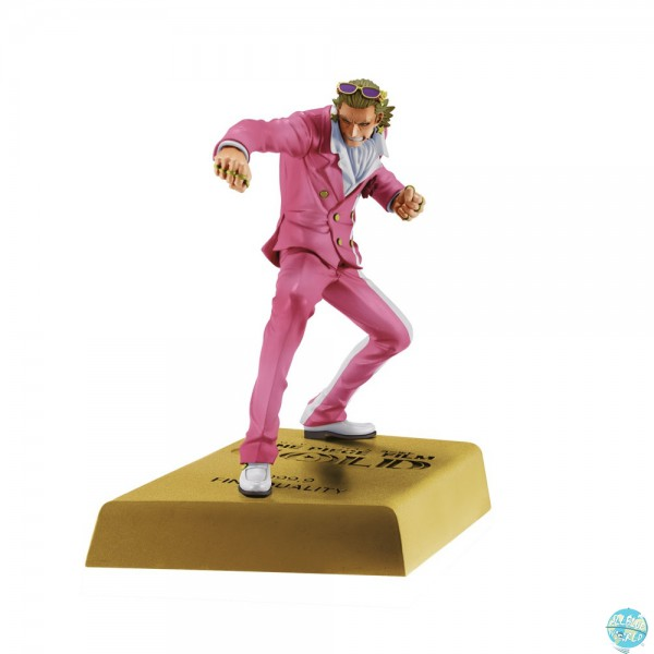 One Piece Movie Gold - Gild Tesoro Figur - DXF / Manhood: Banpresto