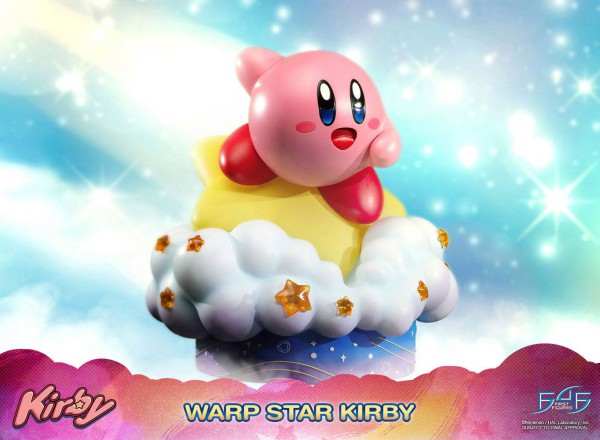 Kirby - Warp-Stern Kirby Statue: First 4 Figures