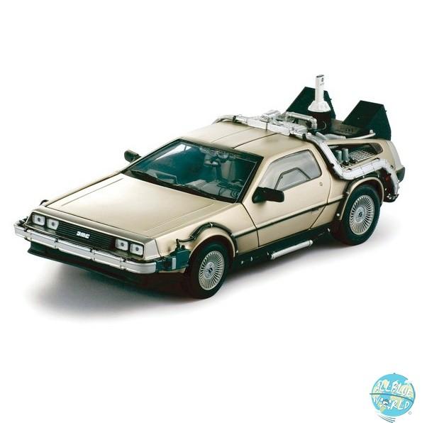Zurück in die Zukunft II - DeLorean Diecast Modell / 83er LK Coupe: Sun Star Toys