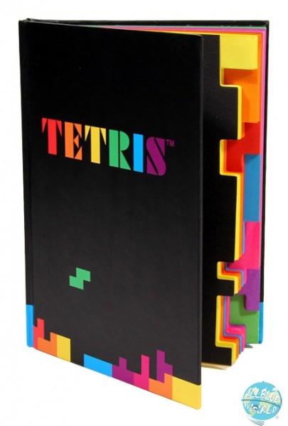 Tetris Paladone Notizbuch Tetrimino A6 140 Seiten