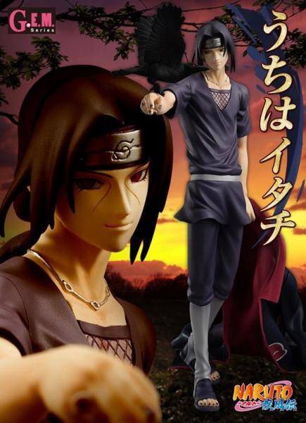 Naruto Shippuden - Itachi Uchiha Statue - G.E.M. Serie [NEUAUFLAGE]: MegaHouse
