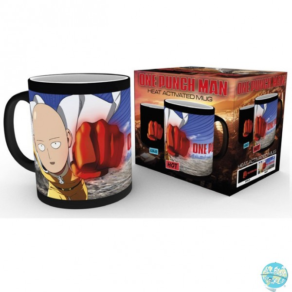 One Punch Man - Tasse Saitama Print - Thermoeffekt: GYE