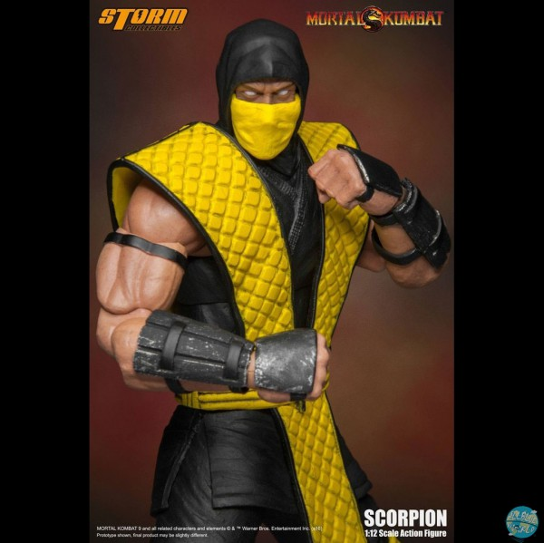Mortal Kombat - Scorpion Actionfigur: Storm Collectibles