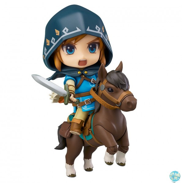 The Legend of Zelda Breath of the Wild - Link Nendoroid / Deluxe Edition: Good Smile Company