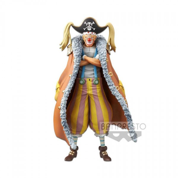 One Piece - Buggy Figur / Stampede DXF - Grandline Men: Banpresto
