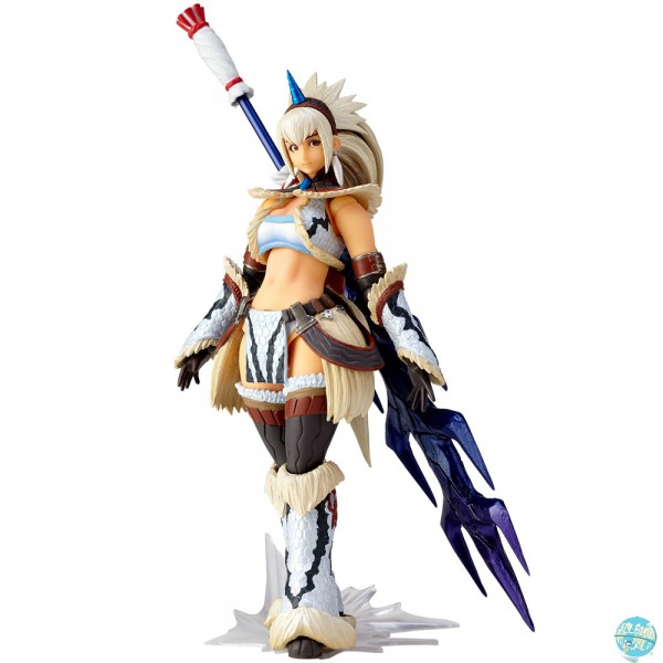 Monster Hunter X - Hunter Swordswoman Kirin Actionfigur - MonHunRevo / Vulcanlog: Union Creative
