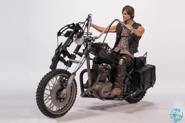 The Walking Dead - Daryl Dixon mit Chopper Actionfigur: McFarlane Toys
