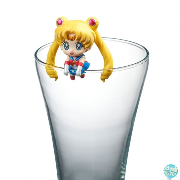 Sailor Moon - Sailor Mercury Sammelfigur - Pretty Soldier Ochatomo Series / Moon Prism Cafe: MegaHou