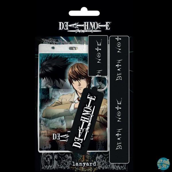 Death Note - Schlüsselband mit Gummianhänger: GYE