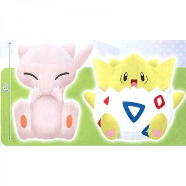 Pokemon - Mew & Togepi Plüschi 2er-Set : Banpresto