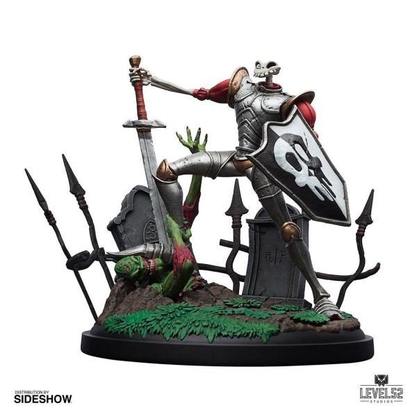 MediEvil - Sir Dan Fortesque Statue: Level52 Studios