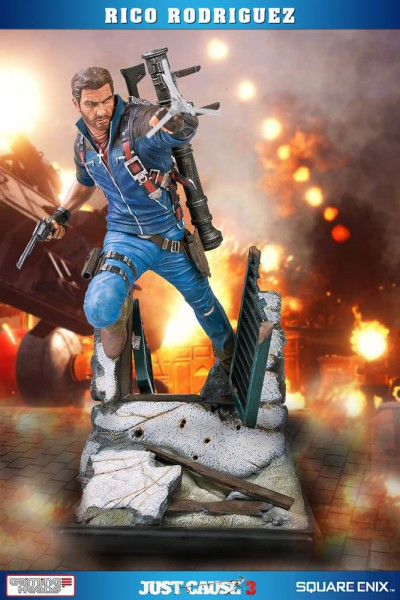 Just Cause 3 - Rico Rodriguez Statue: Gaming Heads