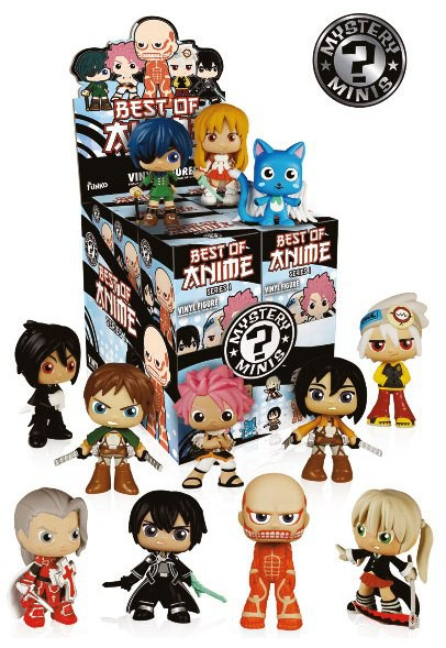 Best of Anime - Mystery Minifiguren Blindbox: Funko