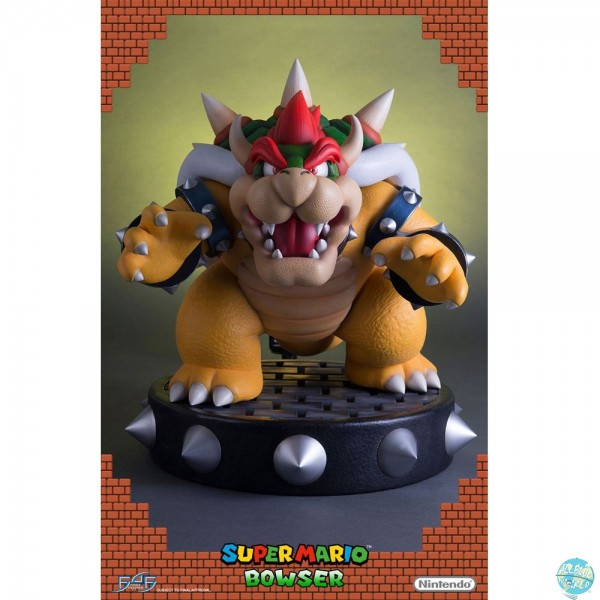 Super Mario - Bowser Statue: First 4 Figures