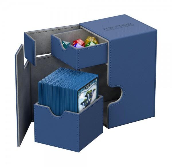 Ultimate Guard - Flip 'n' Tray Deck Case 100+ / XenoSkin Blau