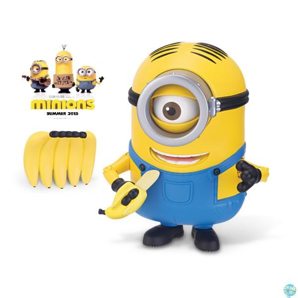 Minions - Banana Munching Stuart Actionfigur: Thinkway Toys